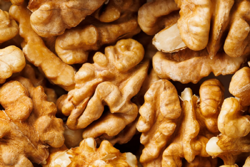 Activated walnuts